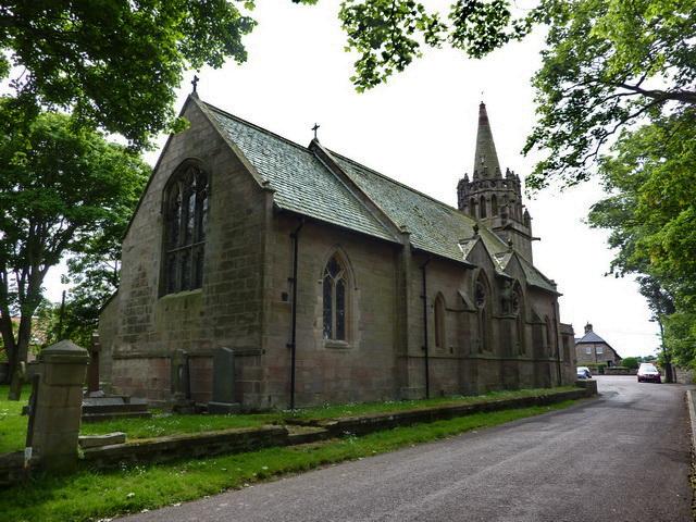 Церковь св. Эббы в Биднелле, графство Нортамберленд