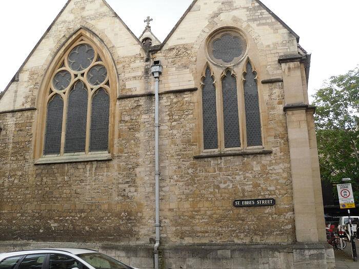 Церковь св. Эббы на одноименной улице в Оксфорде, Оксфордшир (фото - Ирина Лапа)