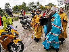 В Нижнем Новгороде стартовал межрегиональный автомотопробег «Невский путь»