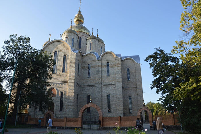 The Cathedral of the Archangel Michael in Cherkassy