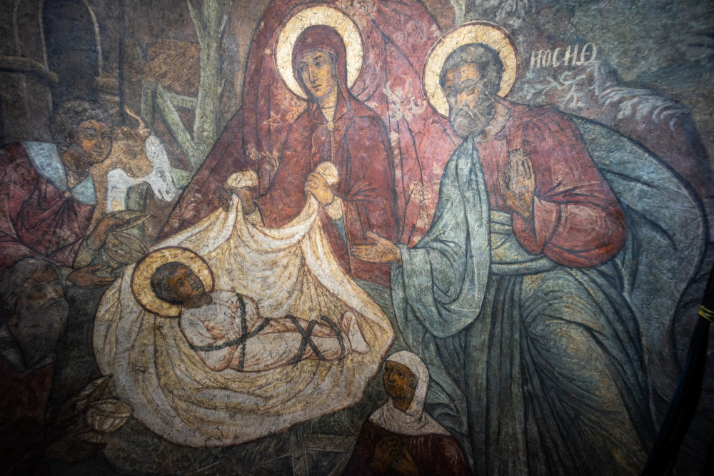 Рождество Христово. Богомладенец