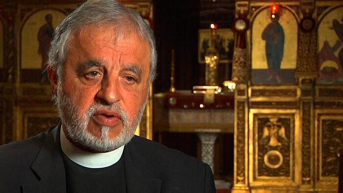 Священник Алекс Карлутсос