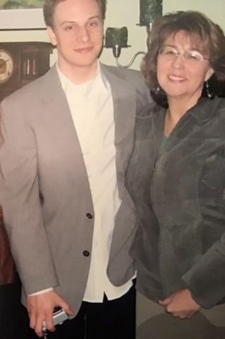 Matushka Maria with her son Nicholas
