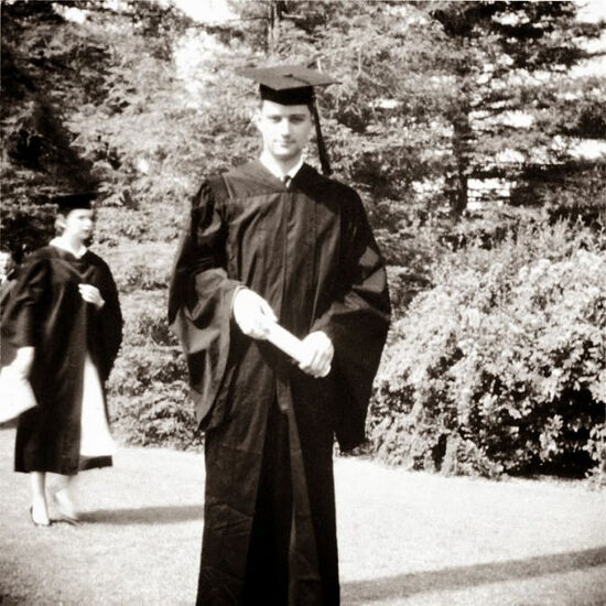 Eugene Rose as a student