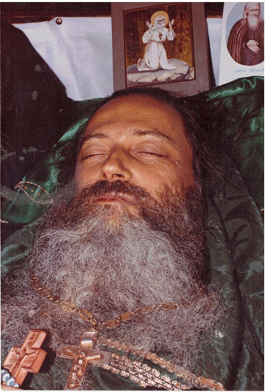 Fr. Seraphim in repose