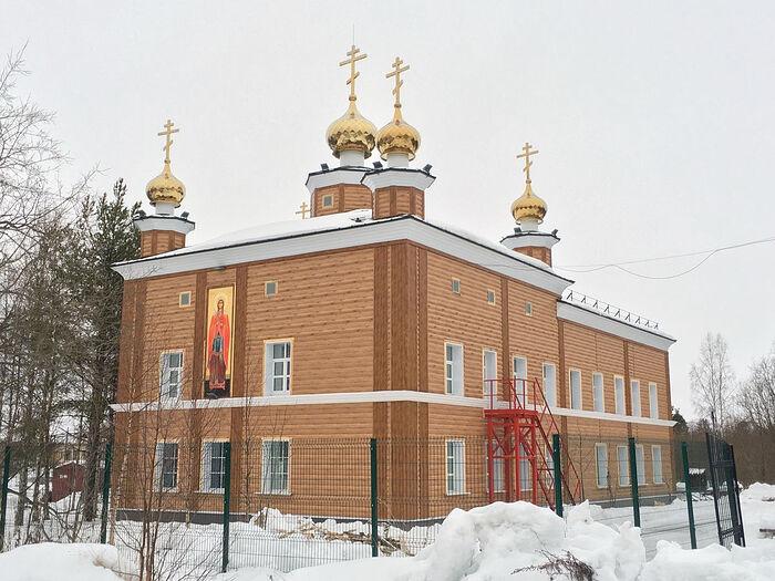 Храм великомученицы Варвары (Архангельск)