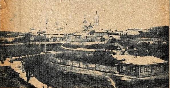 Козельск, фото сделано до 1913 г., из книги «Рязанско-Уральская железная дорога и её район»
