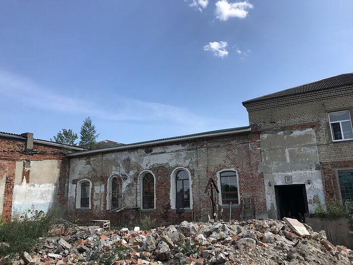 Вознесенсий монастырь в городе Козельске