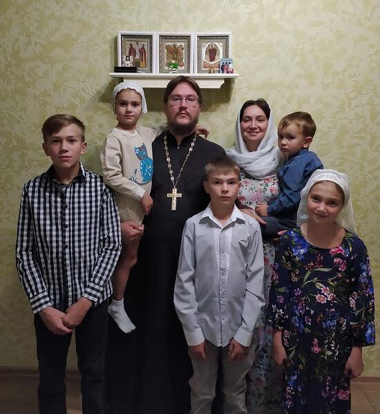 Семья отца Дионисия