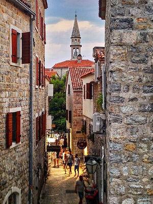 Старый город Будвы, Черногория