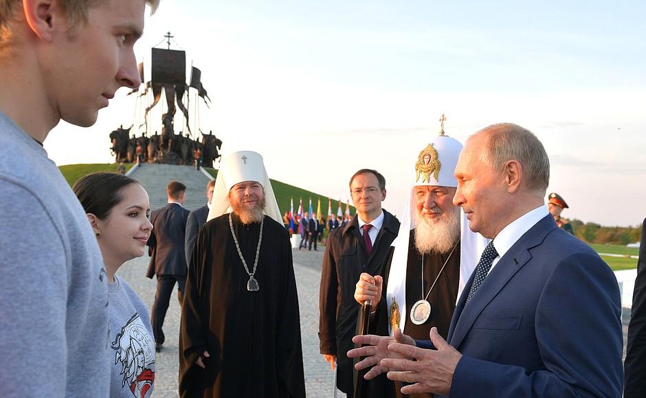 Я не могу быть патриархом по уставу Русской православной церкви.