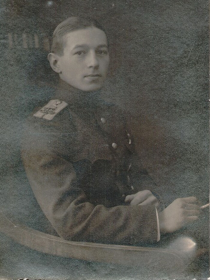 Князь Никита Иванович Лобанов-Ростовский, белый офицер