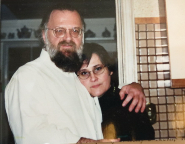 Archpriest Victor Potapov with his wife Maria