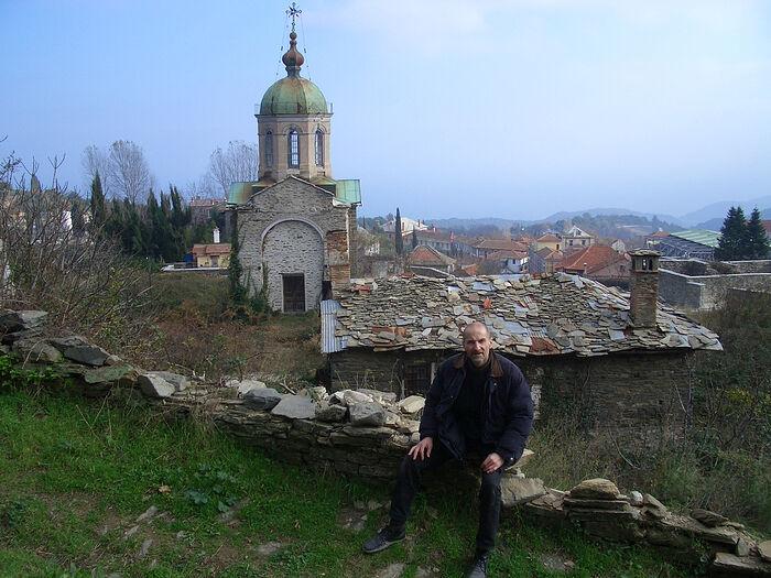 Ο Πιότρ Μαμόνοβ στο Άγιον Όρος