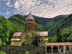 Once in Kvatakhevo Monastery