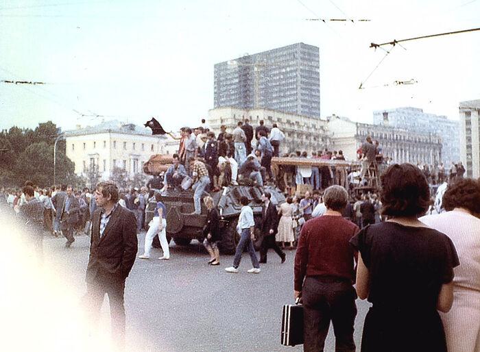 На Манежной площади. Фото: Инна Симонова