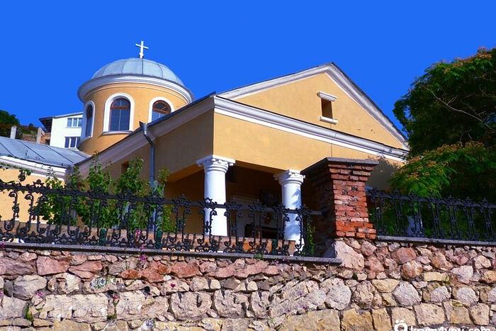 Храм 12 Апостолов в Балаклаве после восстановления