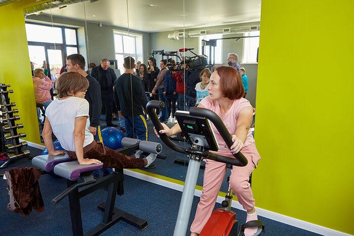 В новом реабилитационно-оздоровительном комплексе в «Новых Берегах» в Пензе. Фото: Евгений Богослов