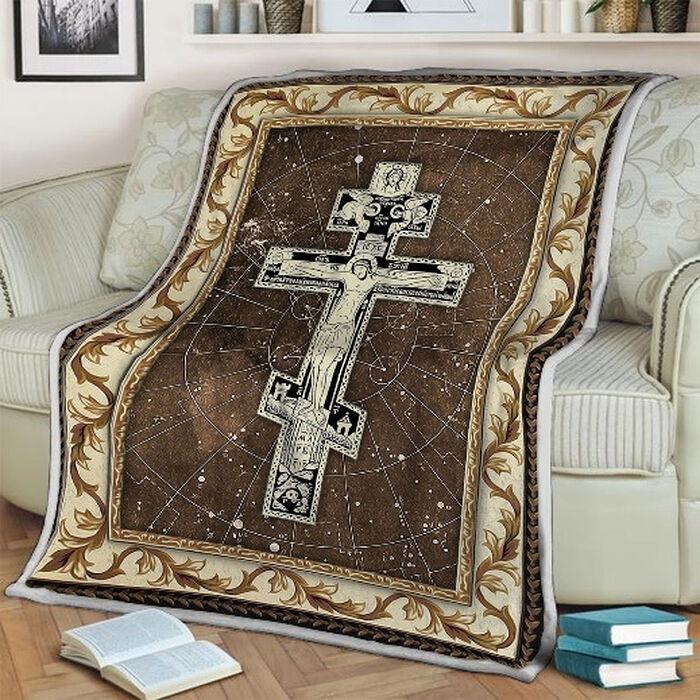 Одеяло «Восточный православный Крест»