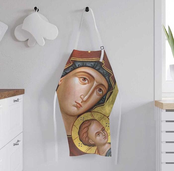 Фартук кухонный регулируемый «Младенец с Марией»