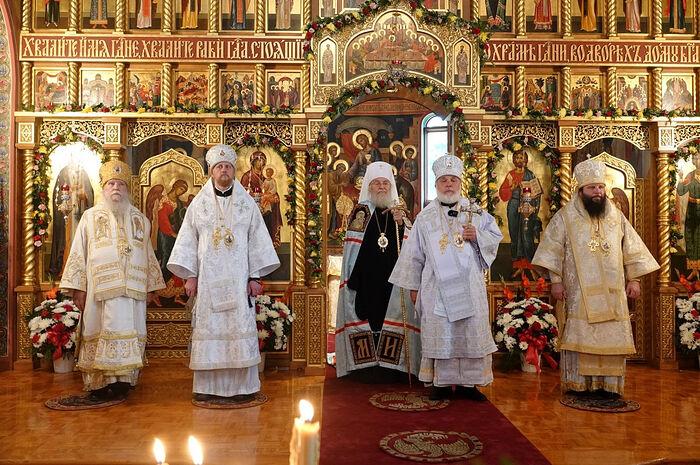 Иерарх Русской Православной Церкви принял участие в праздновании 800-летия благоверного князя Александра Невского в США