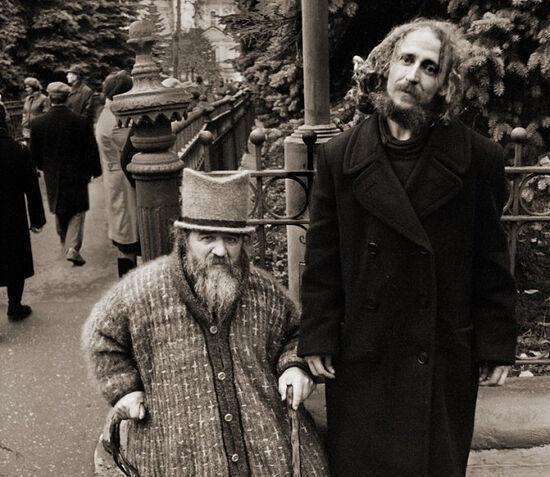 Blessed Fools-for-Christ Mikhail and Nikolai. Photo: Anatoly Goriainov