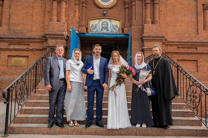Венчание Антона и Нины