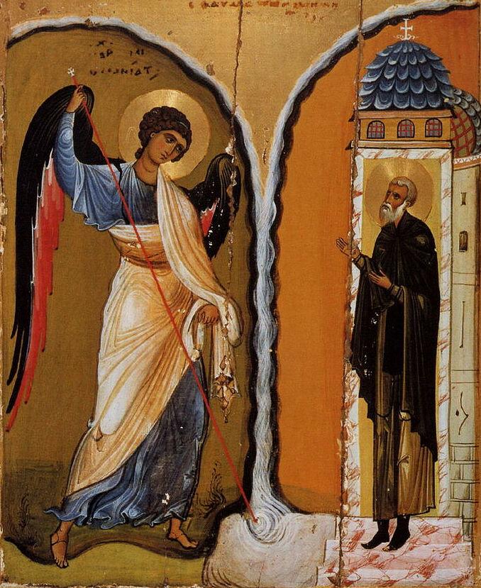 Archangel Michael (Miracle at Chonae). Sinai, 12th c.