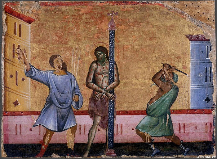 The flogging of Christ
