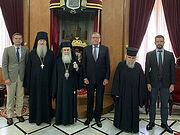 Иерусалимский Патриарх принял посла России