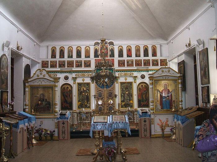 В храме Покрова Пресвятой Богородицы в Тамани