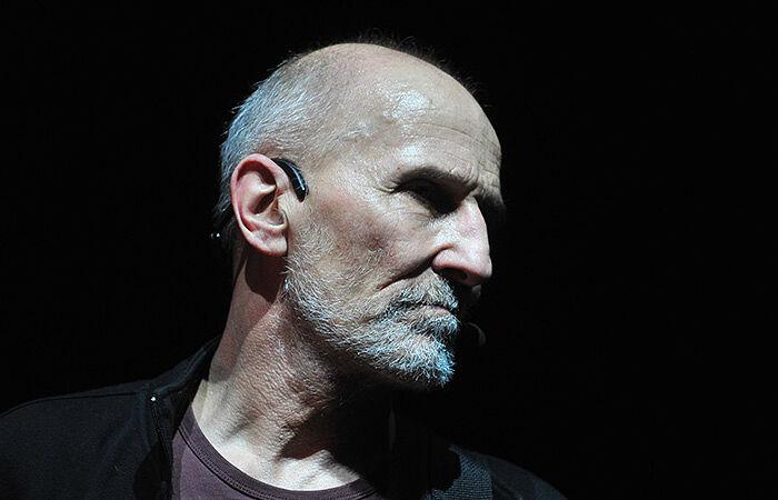 Ο Πιότρ Μαμόνοβ στη συναυλία