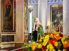 Слово Святейшего Патриарха Кирилла в день памяти благоверного князя Александра Невского по окончании Литургии в Александро-Невской лавре