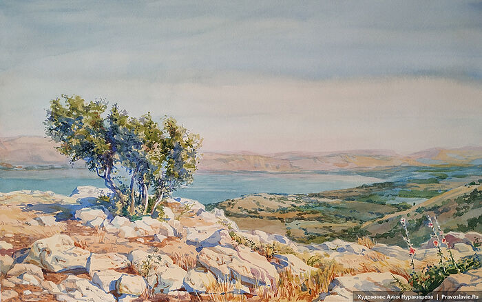 Палестина. Художница: Алия Нуракишева / Православие.Ru