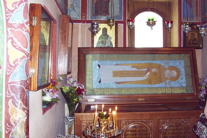 Мощи праведного Алексия Московского (Мечева)