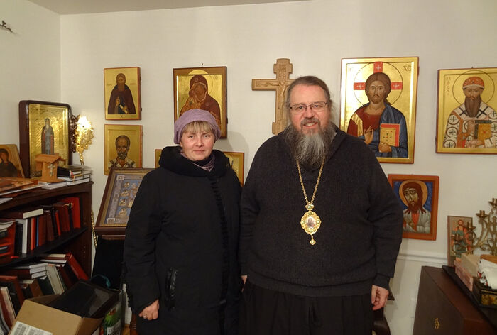 В гостях у митрополита Ионы (Паффхаузен), Вашингтон