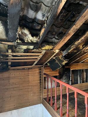Так выглядел дом Ипатовых внутри после пожара