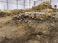Foundations of pre-schism Anglo-Saxon church unearthed in village outside London