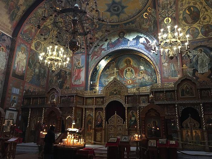 Ο Ιερός Ναός «Πάντων Θλιβομένων η Χαρά»