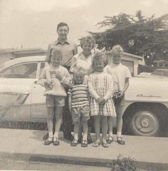 Мои будущие тесть Стэнли и теща Клара с детьми только что приехали в Америку в 1965-м году, здесь и моя будущая жена, а тогда семилетняя Сусанна