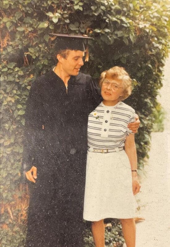 Клара с сыном Давидом