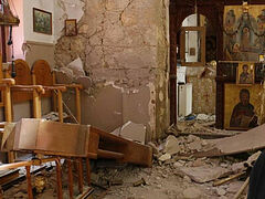 Crete: Church collapses in earthquake, killing man who vowed to restore it
