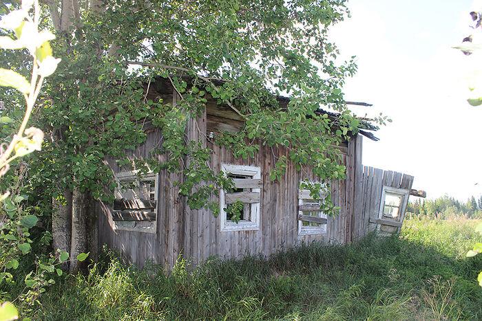 Дом Федосьи Растворовой в старой Даниловке
