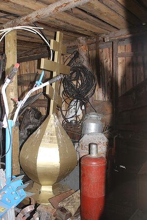 Купол для часовни, который заказывали в исправительной колонии