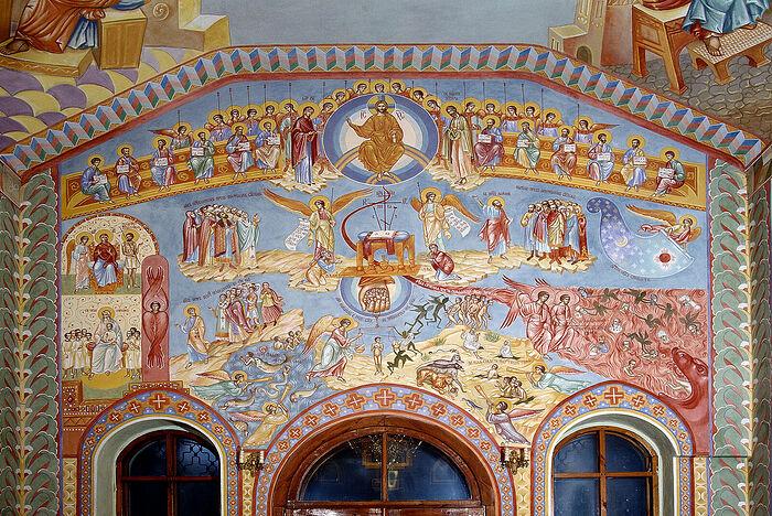 Страшный суд из храма святителя Тихона в Донском монастыре