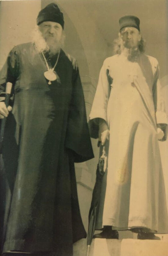 Владыка Антоний (Медведев) и протоиерей Ростислав Ган в Австралии