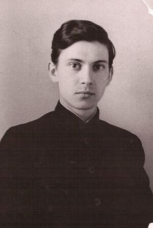 Семинарист Леонид Ролдугин. Фото из личного архива отца Леонида