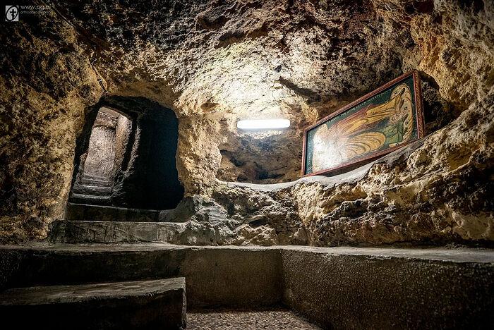 Το σπίτι των Αγίων και Δικαίων Ιωακείμ και Άννης. Φωτογραφία: orthodoxographia.com