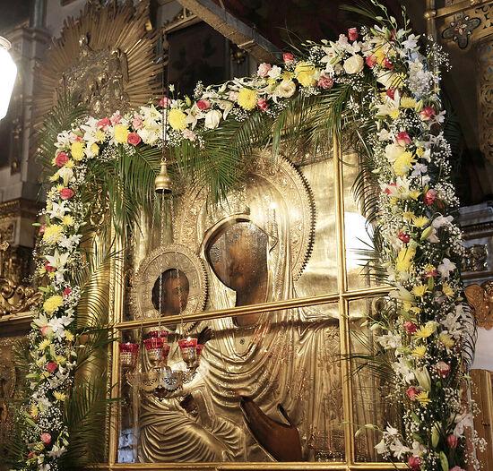 Святыня храма Рождества Христова в Измайлове – чудотворная икона Божией Матери «Иерусалимская»