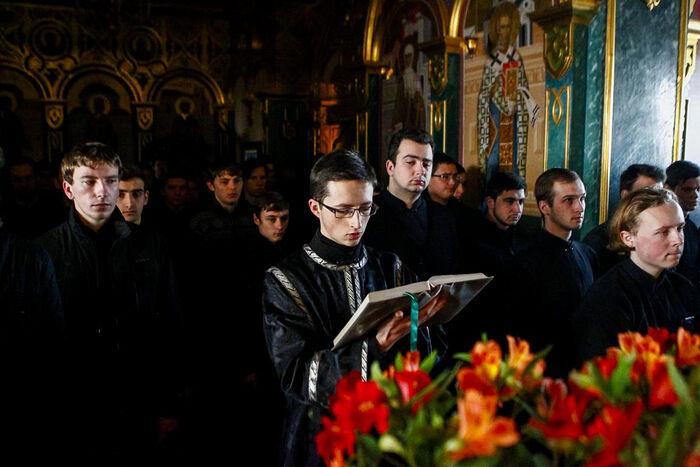 Семинаристы Одесской семинарии